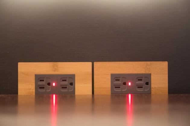 月光系列竹山竹-LED接地雙插蓋板組 3