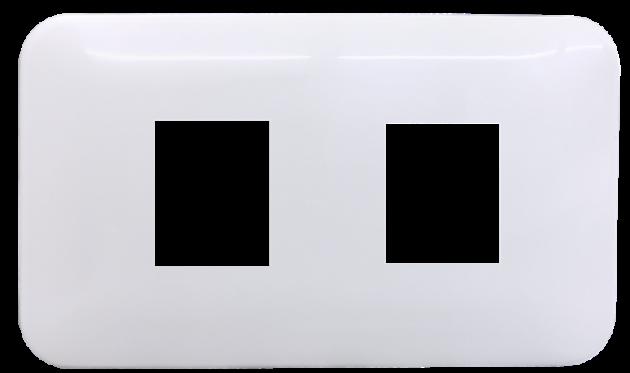 時尚基本款系列/二孔蓋板組 1