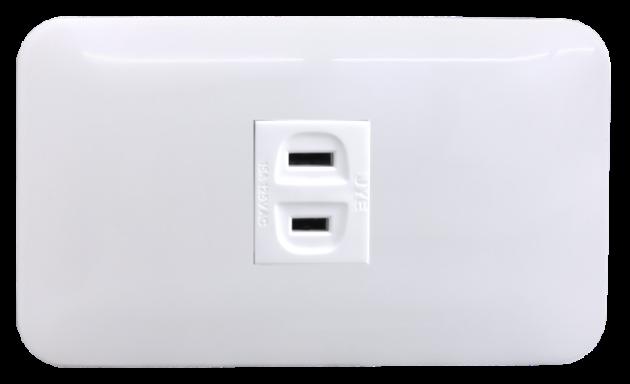 時尚基本款系列/單插座蓋板組 1