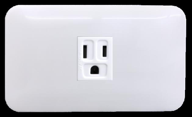 時尚基本款系列/接地單插座蓋板組 1