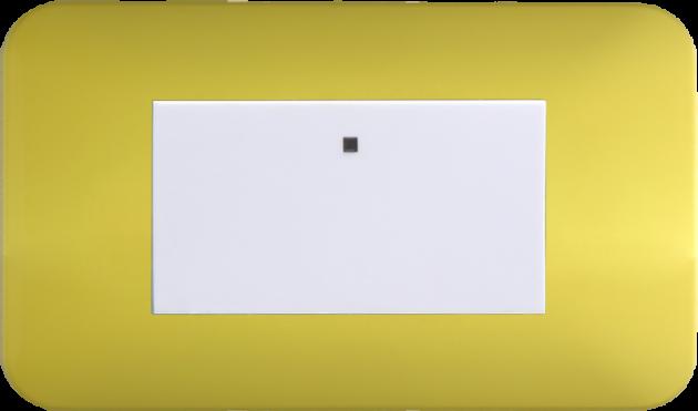 時尚馬卡龍系列檸檬黃/一開關蓋板組 1