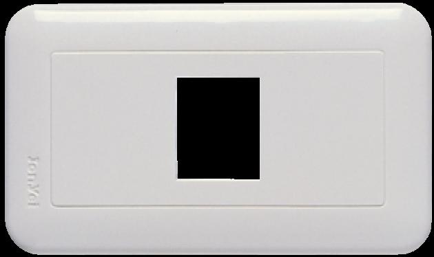 新歐風系列/一孔蓋板 1