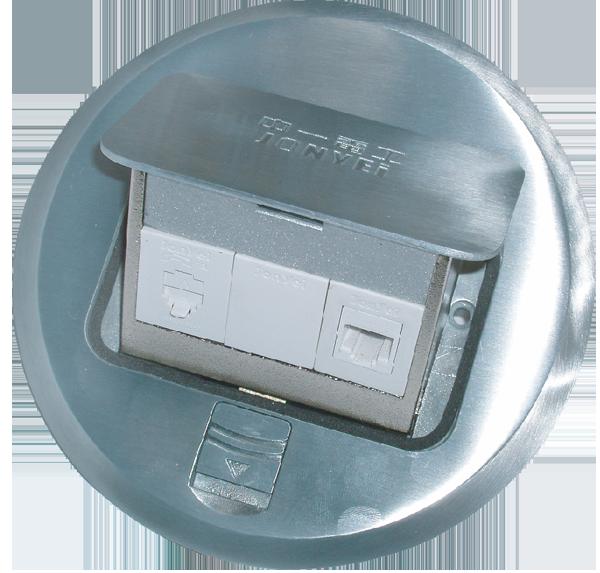 地板插座系列/地板1資訊1電話插座 1
